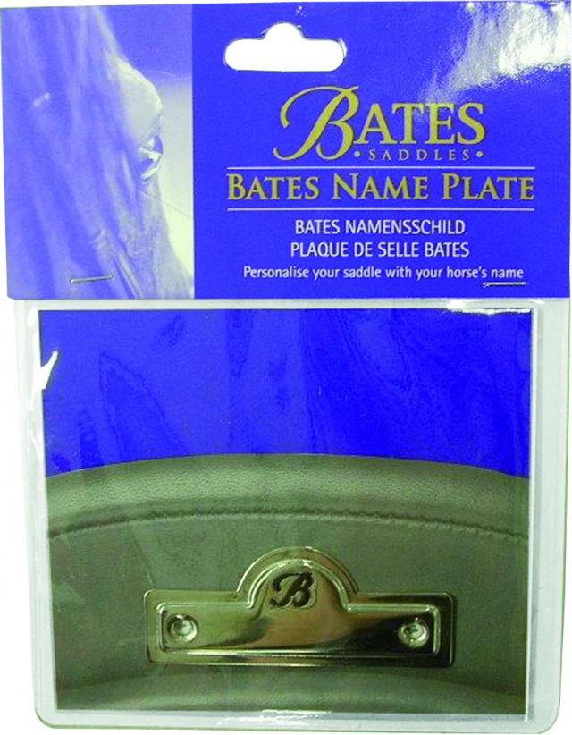 Bates navneplate