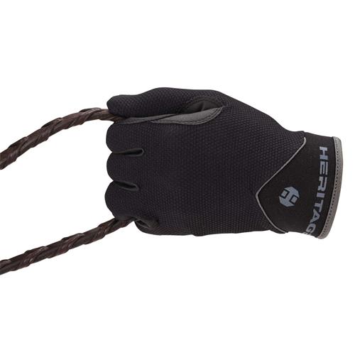 Ridehanske Heritage Ultralite Gloves Svart