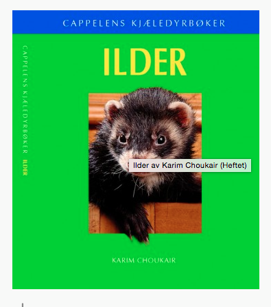 Cappelens kjæledyrbøker. TILBUD
