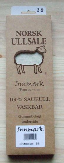 Norsk Ullsåle. TILBUD