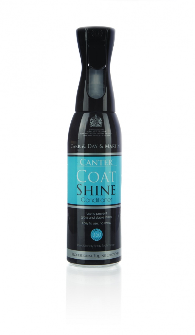 CDM Canter Coat Shine Conditioner - Spray - Equimi