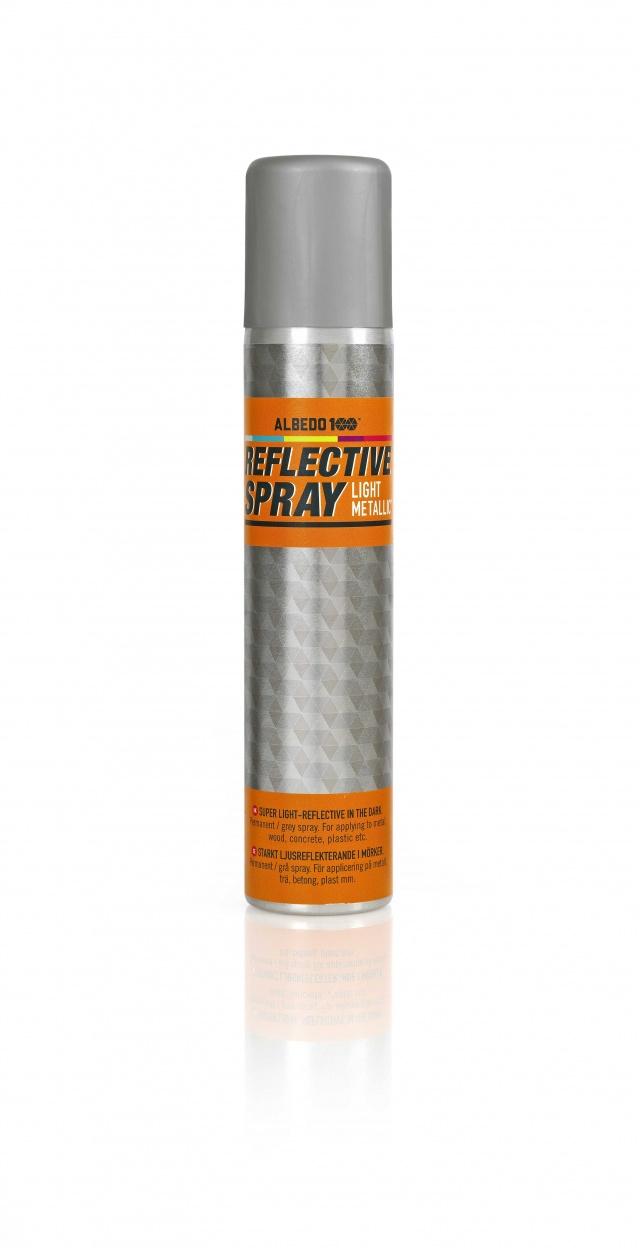 Reflective Spray Light Metallic