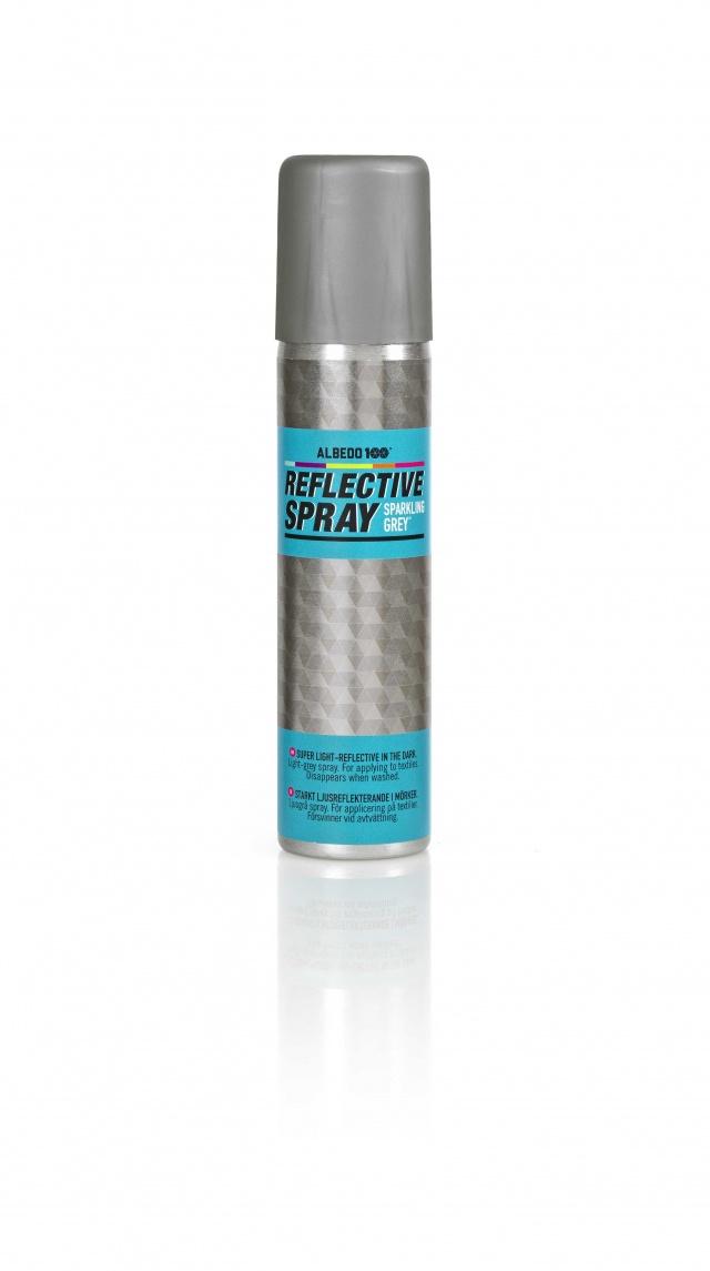 Reflective Spray Sparkeling Grey