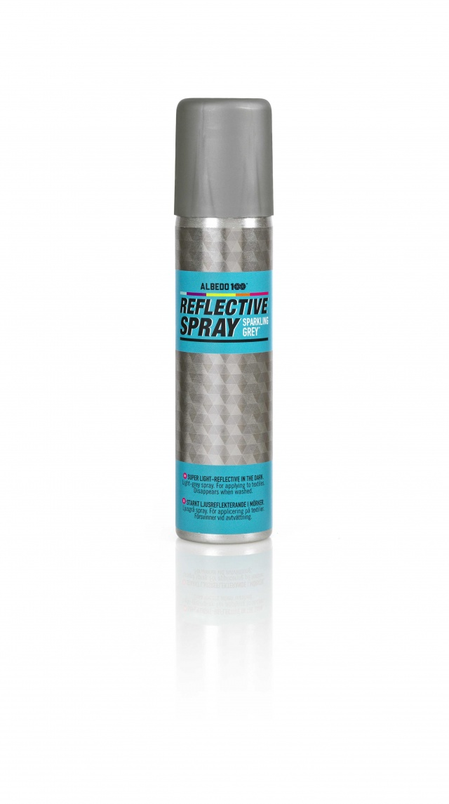 Reflective Spray Sparkeling Grey