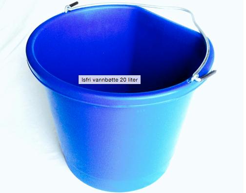 Isfri vannbøtte 20 liter (24V)