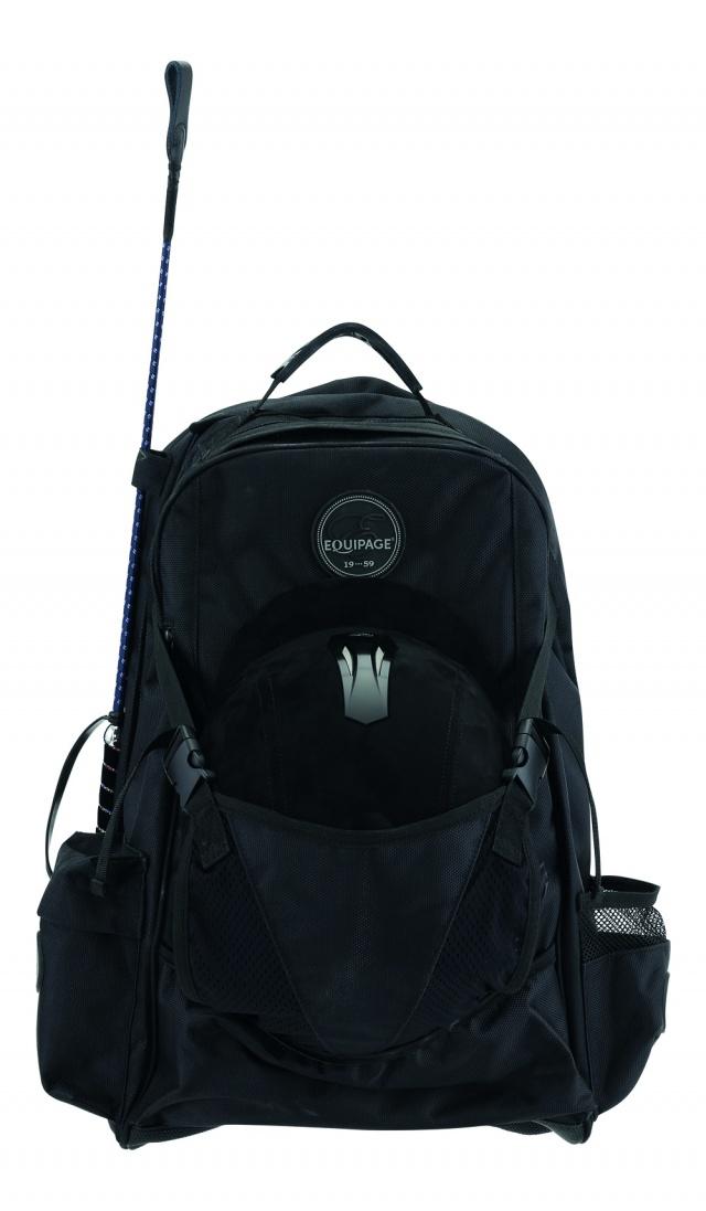 Grooming bag. Equipage.
